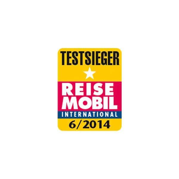 Reisemobil International award winner 2014 Logo