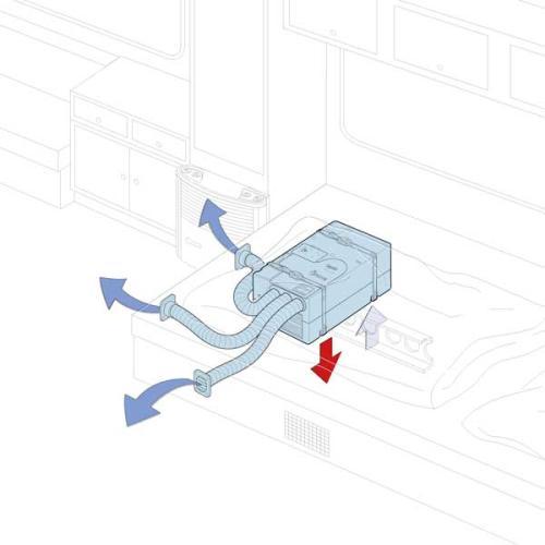 Truma Saphir cold air distribution - eco solution