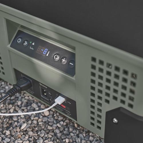 digitales display des Truma Cooler