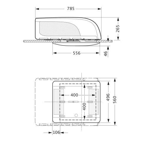 truma FRE72833 Klimaanlage aventa compact