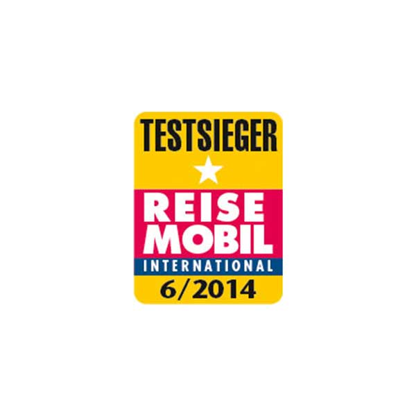 Reisemobil International award winner 2014 Logo