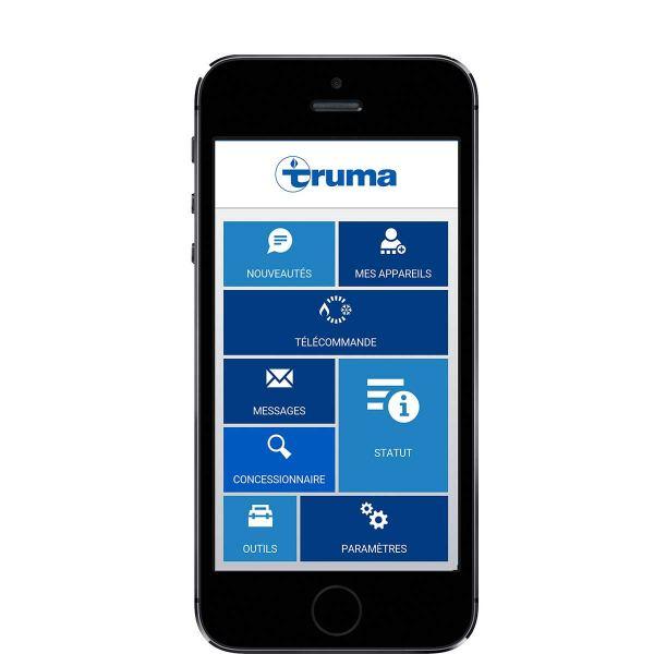 Truma App startscreen