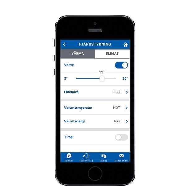 Truma App remote control